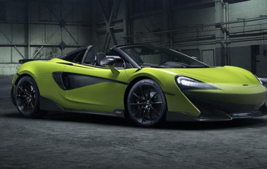 McLaren 600LT Spider, disfruta el viento a 196 mph