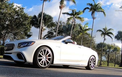 Video Mercedes-AMG S63 Cabriolet 2019