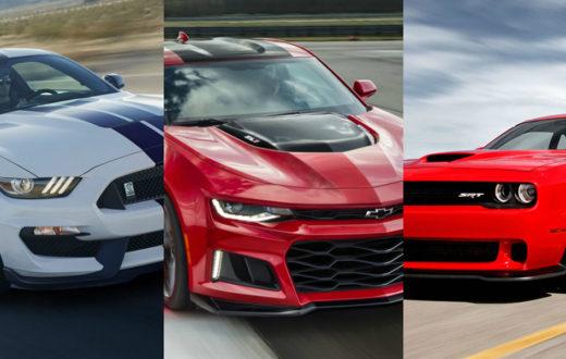El Muscle Car más vendido de 2018 fue...