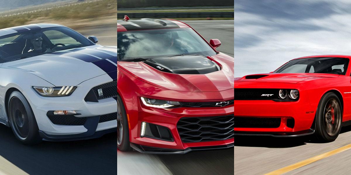 Muscle Car más vendido de 2018