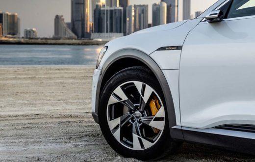 Neumáticos especiales para un auto eléctrico