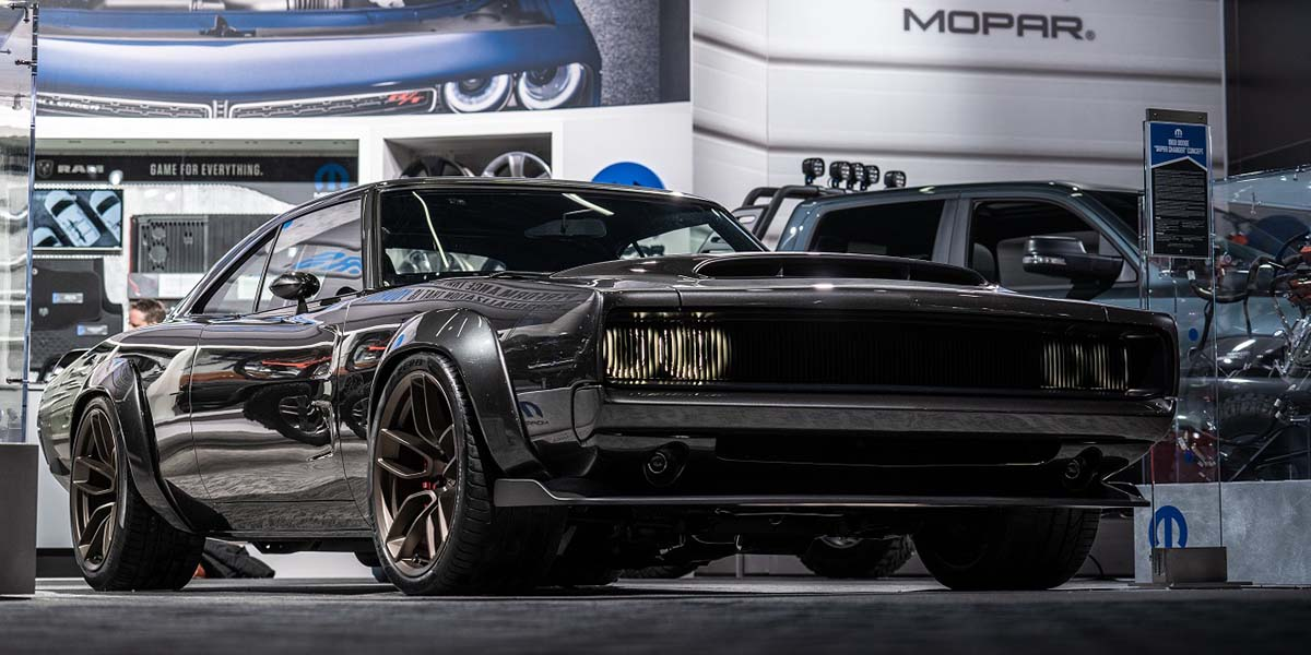 Video Mopar en el Auto Show de Detroit 2019