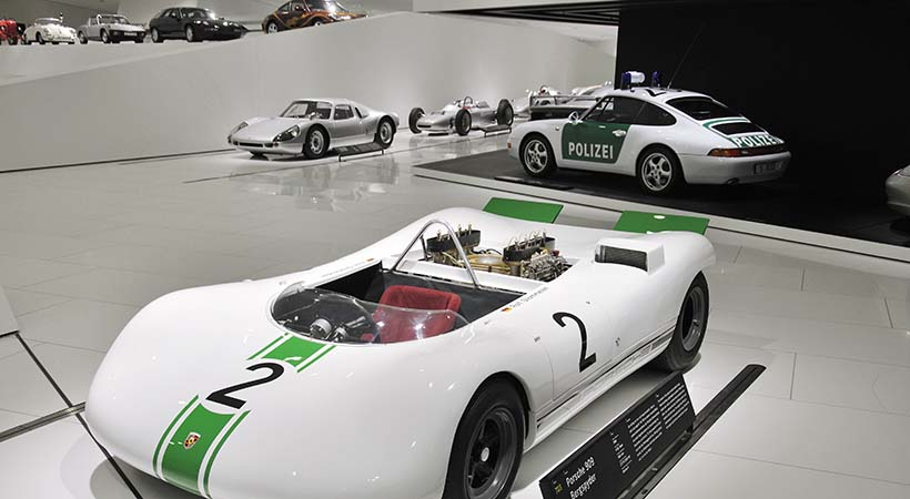 Triple festejo Museo Porsche