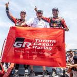 Victoria Toyota en el Rally Dakar 2019