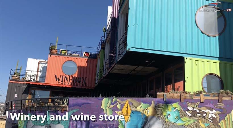 Video viaje de Año Nuevo 2019 a Winebox Valparaiso, Chile