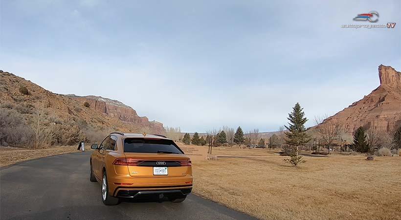 Video Audi Q8 2020 Road Trip