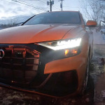 Video Audi Q8 Road Trip 2019
