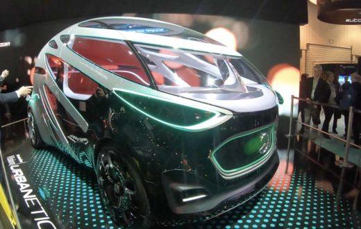 Autos y tecnología en CES Las Vegas 2019