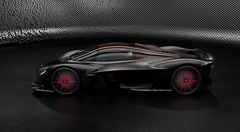 Así puedes personalizar tu Aston Martin Valkyrie