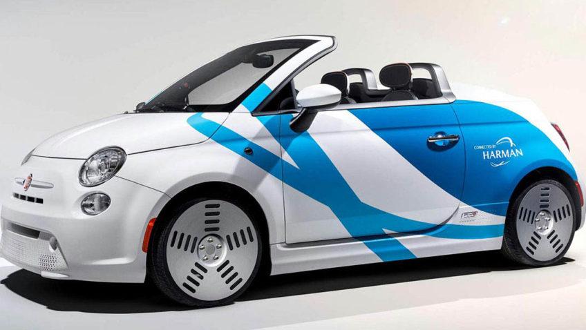 Fiat 500E Harman International Concept