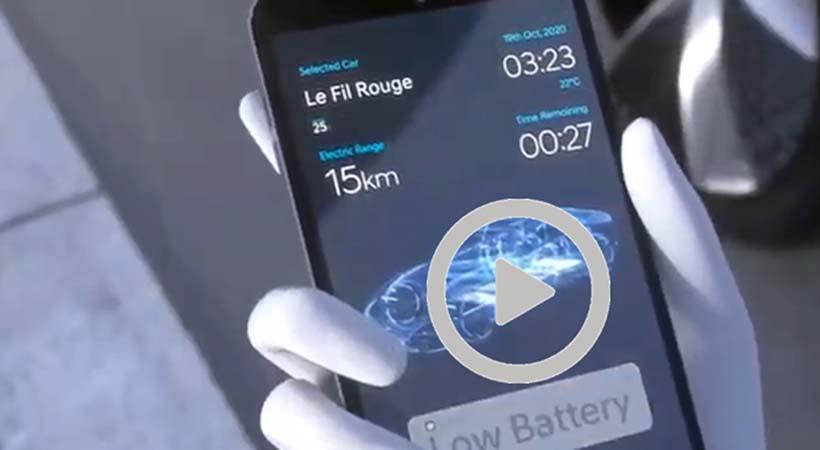 Video Hyundai AVPS, así se recargará un auto eléctrico en 2025