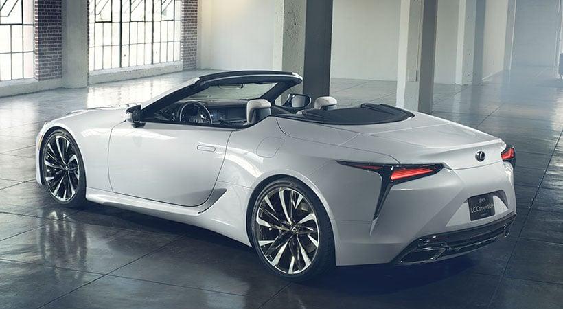 Lexus LC Convertible Concept, debut global en Detroit