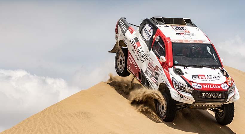 Victoria Toyota en el Rally Dakar 2019, completó triplete histórico