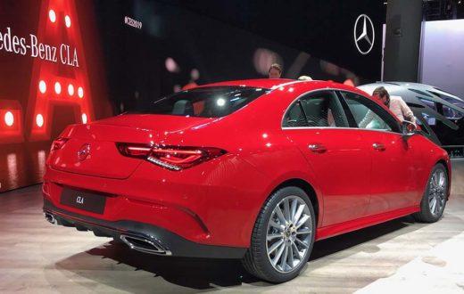 Mercedes-Benz CLA 2020, debut global en CES Las Vegas 2019