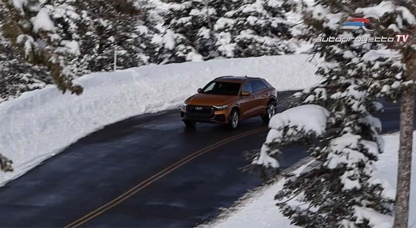 Video Test Drive Audi Q8 2019, lujo, tecnología y manejo deportivo