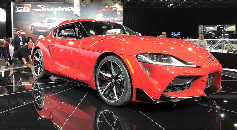 Debut global Toyota Supra 2020 en el Auto Show de Detroit