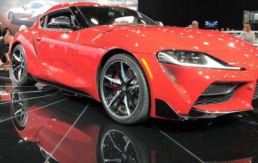 Debut global Toyota Supra 2020