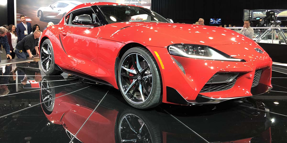Debut global Toyota Supra 2020