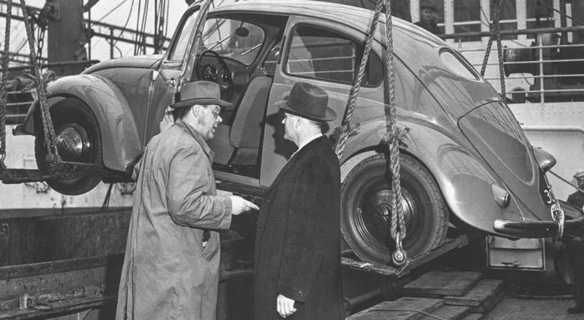 Primer Volkswagen Beetle en Estados Unidos