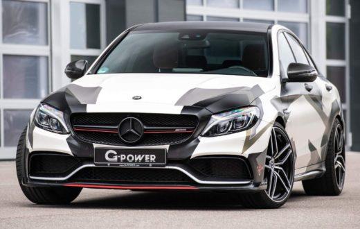 Mercedes-AMG C 63 S by G-Power, 800 hp de potencia alemana