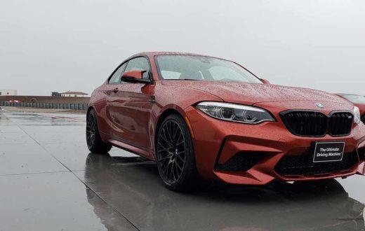BMW Test Fest 2019, los modelos más poderosos sobre piso mojado