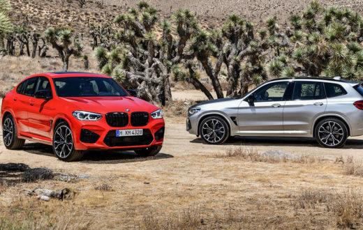 BMW X3 M y X4 M 2020