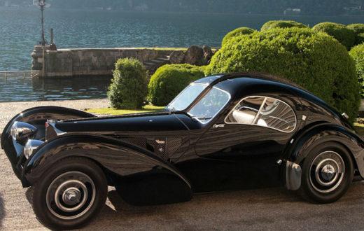 Bugatti 57 SC Atlantic One-Off moderno
