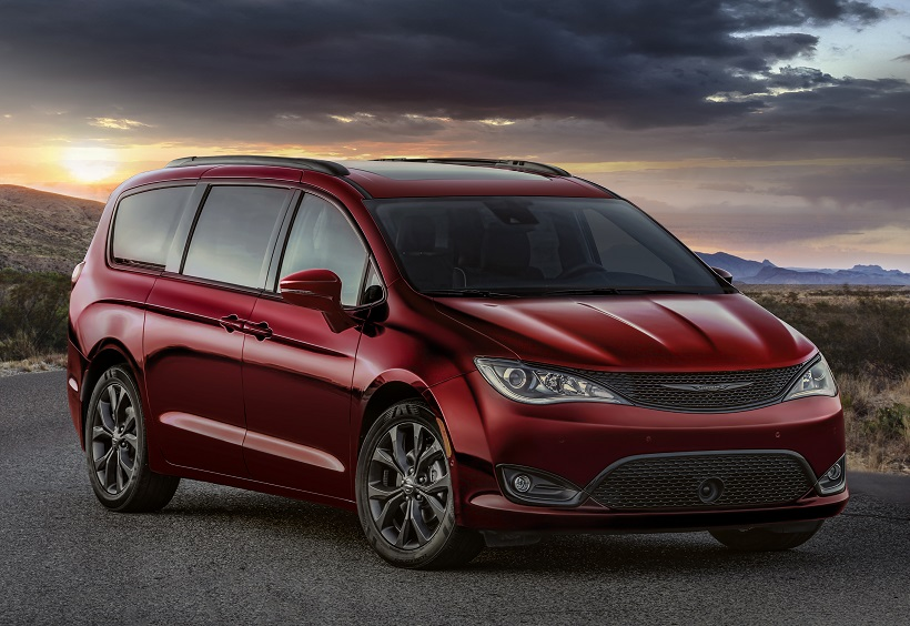 Chrysler Pacifica y Dodge Gran Caravan 35th Anniversary