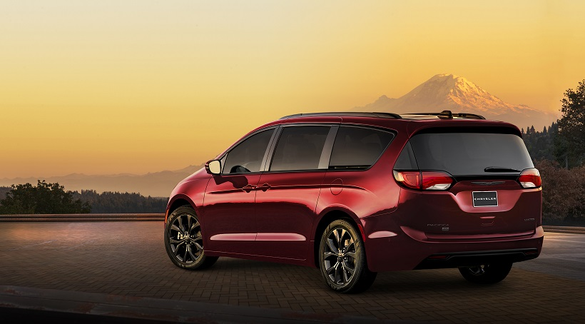 Chrysler Pacifica y Dodge Grand Caravan 35th Anniversary