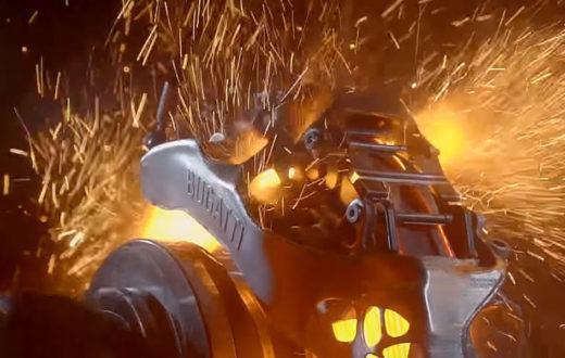 Cáliper Bugatti impreso en 3D es una maravilla en video
