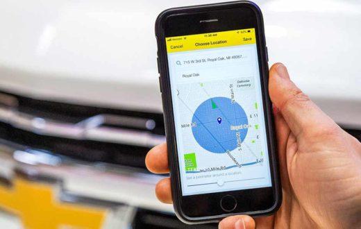 Vehicle Locate, nueva y útil función de la app myChevrolet