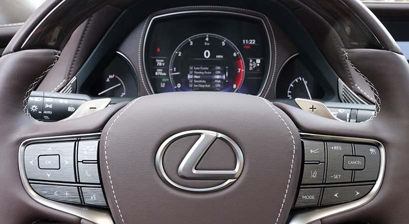 Test Drive Lexus LS 500 AWD 2019