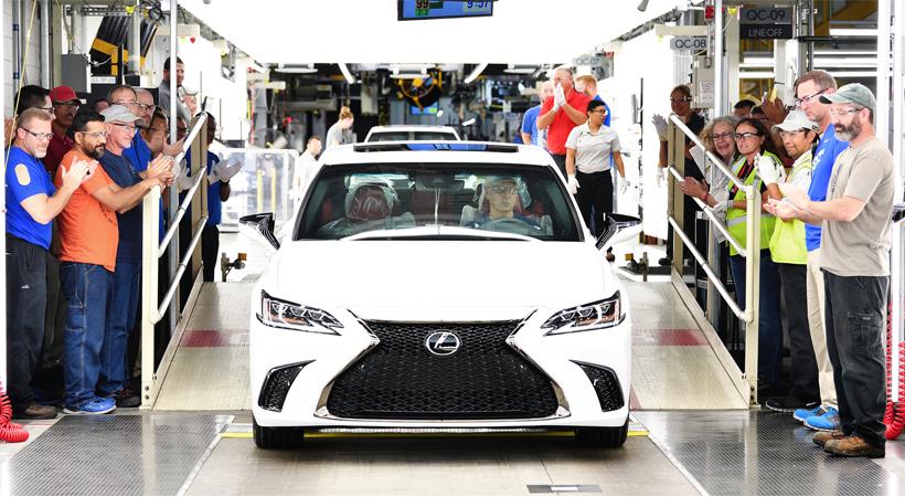 Lexus: 10 millones de unidades vendidas