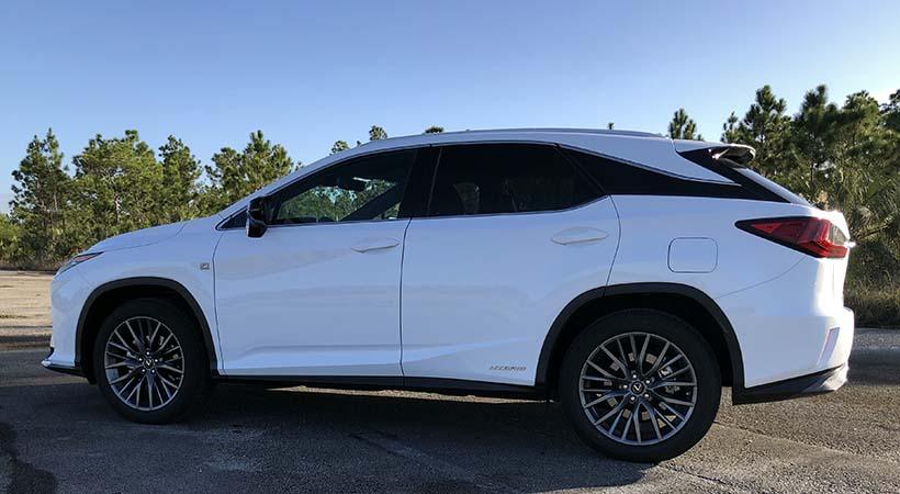 Test Drive Lexus RX 450h 2019