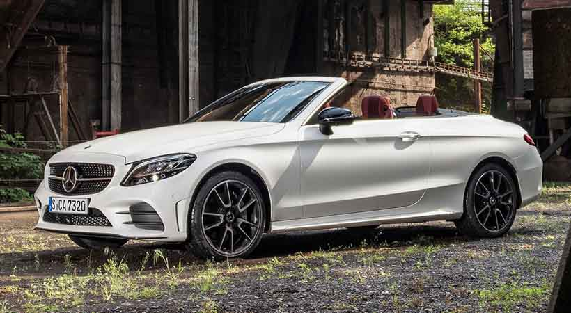 video Mercedes-Benz C-300 Cabriolet 2019