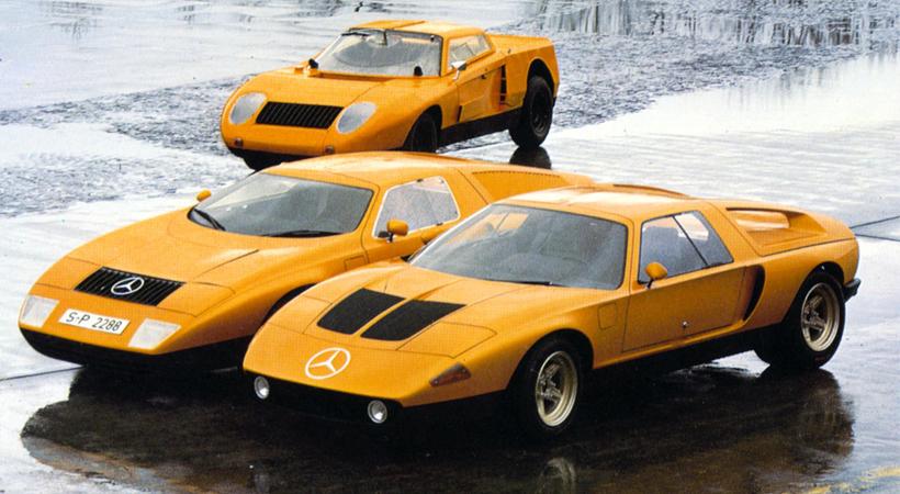 Top 5 autos concepto más cool de los años 70