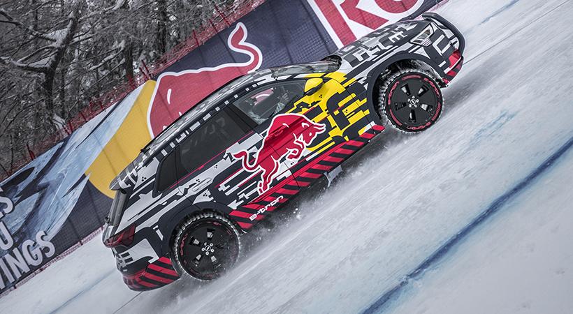 Test Drive extremo Audi e-tron