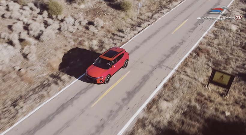 Test Drive Chevrolet Blazer 2019