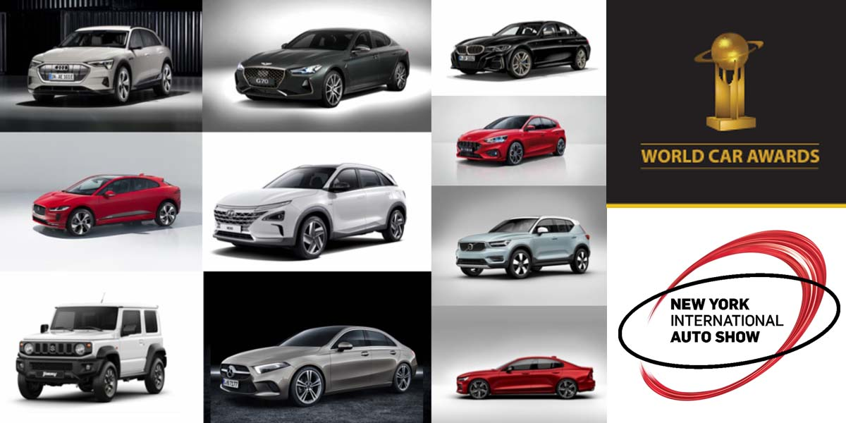 Finalistas World Car of the Year 2019