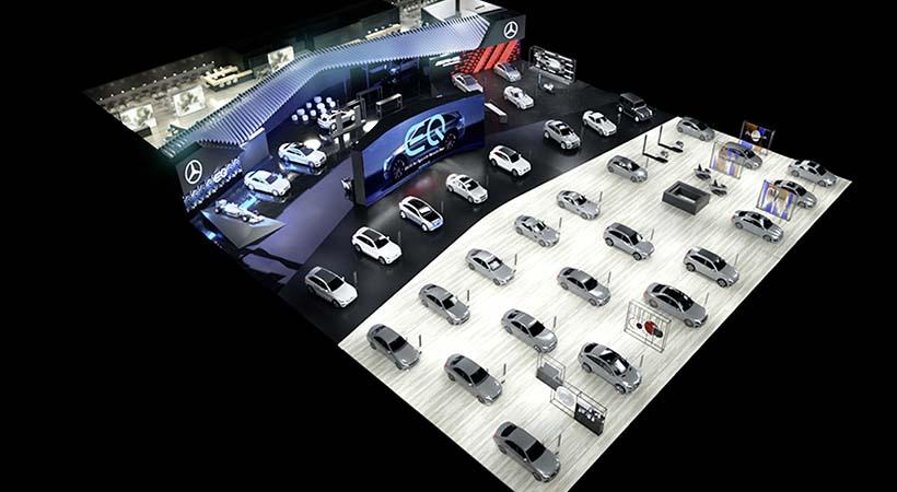 Visión del futuro Mercedes-Benz en el Auto Show Ginebra 2019