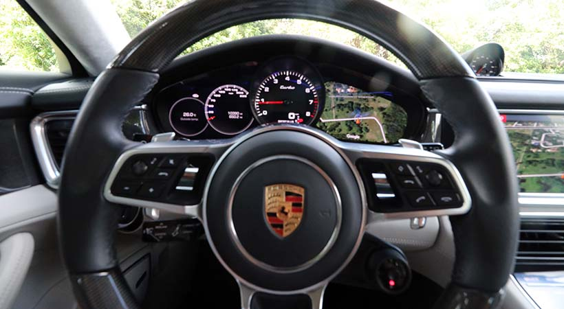 Porsche Panamera Turbo Sport Turismo 2019