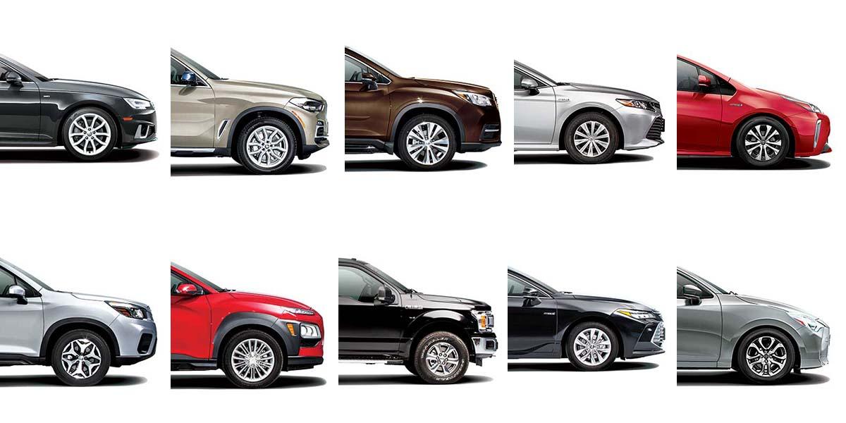 Top 10 Autos 2019 de Consumer Reports