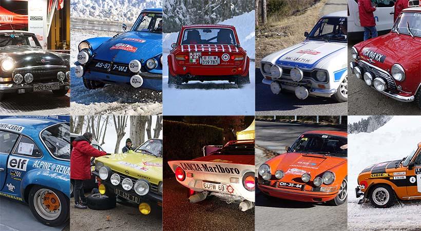 Top 10 autos del Rallye Monte-Carlo Histórico, solo leyendas