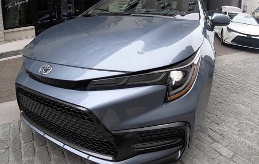 Video Toyota Corolla 2020