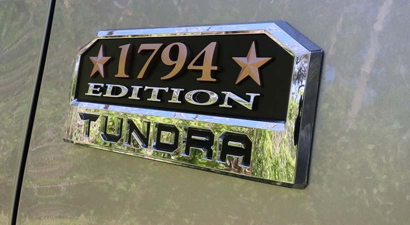 Test Drive Toyota Tundra 1794 Edition 2019