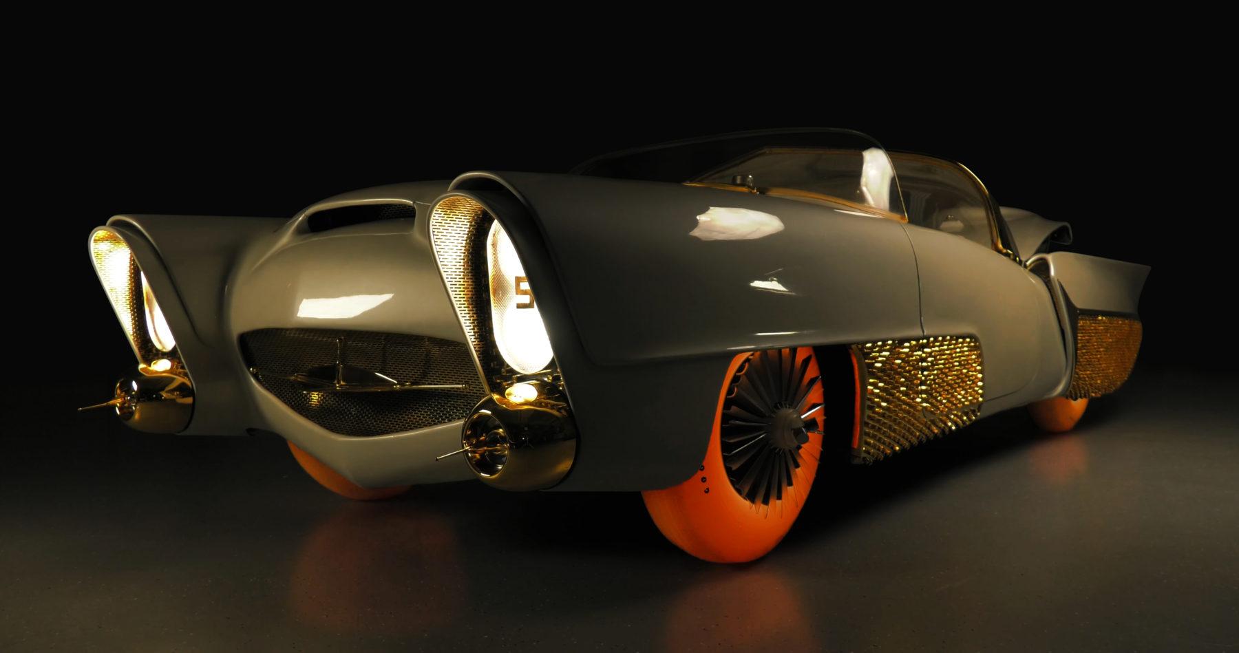 Golden Sahara II, joya restaurada para el Auto Show Ginebra