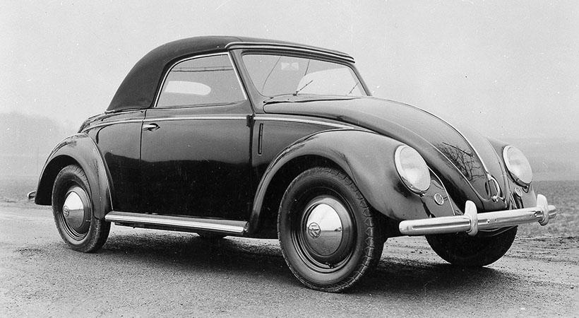 Homenaje Volkswagen Beetle en el Amelia Island