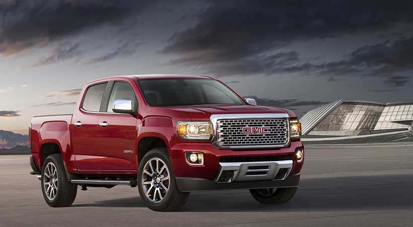 video GMC Canyon Denali 2019