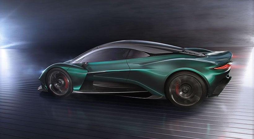 Aston Martin Vanquish Vision Concept, la nueva generación se presenta en Ginebra