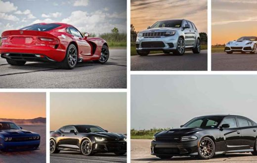 Top 6 autos más potentes modificados por Hennessey en video